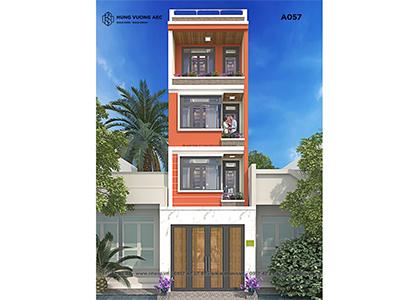 Nhà phố hiện đại 4×12 4 tầng – A057