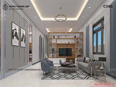 Nội thất nhà Cấp 4 5×25 hiện đại – C083