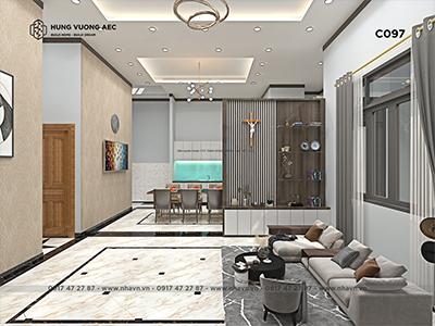 Nội thất nhà cấp 4 hiện đại – C097